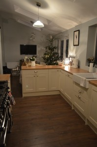 Open Plan Kitchen/Diner decorated by Andrew Batey and Sons